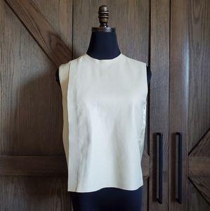 Celine Leather top